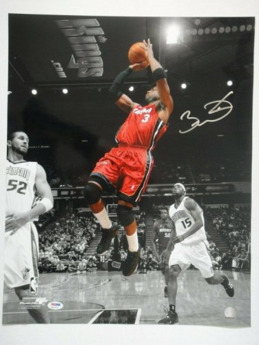 Dwyane Wade Autographed Signed PSA/DNA Certified Miami Heat 16X20 Photograph Autographed