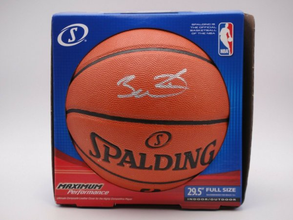 Dwyane Wade Autographed Signed PSA/DNA Official NBA I/O Basketball Autographed #5A35075