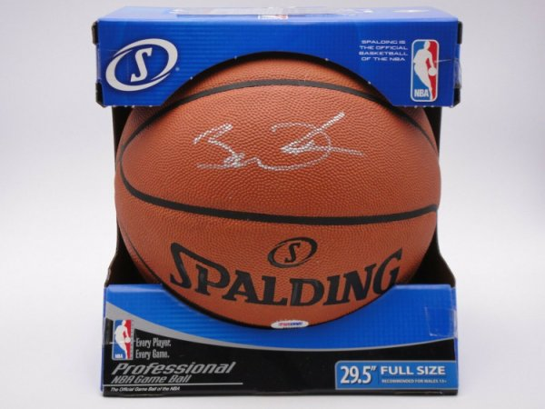Dwyane Wade Autographed Signed PSA/DNA Official NBA Leather Game Basketball Autograph HOF