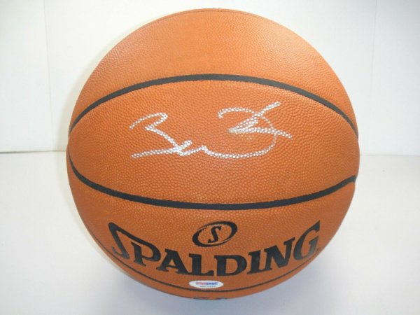 Dwyane Wade Autographed Signed PSA/DNA Official NBA Leather Game Basketball Autographed HOF