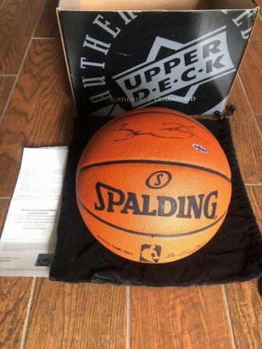 Dwyane Wade Autographed Signed Spalding Basketball UDA With Original UDA Box And Bag