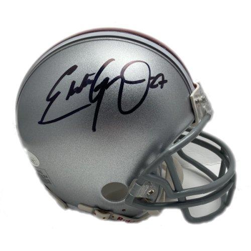 Eddie George Autographed Signed Ohio State Buckeyes Mini Helmet - JSA Authentic