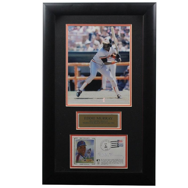Eddie Murray Autographed Signed Framed First Day Cover - Certified Authentic