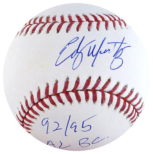 482c3f0adde48c Edgar Martinez Autographed Signed Official Major League Baseball Seattle  Mariners 92 95 AL BC -