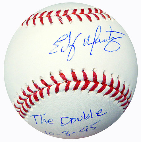 5420c757326753 Edgar Martinez Autographed Signed Official Major League Baseball Seattle  Mariners The Double 10-8-