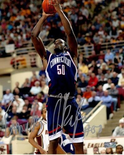 868ef10f3d45 Emeka Okafor Autographed Signed Auto UConn Connecticut Huskies 8x10  Photograph - Certified Authentic