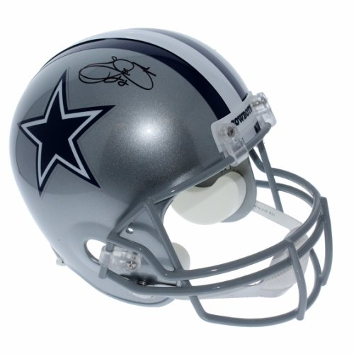 Emmitt Smith Dallas Cowboys Autographed Signed Riddell Full Size Replica  Helmet - PSA DNA Authentic 616f54737