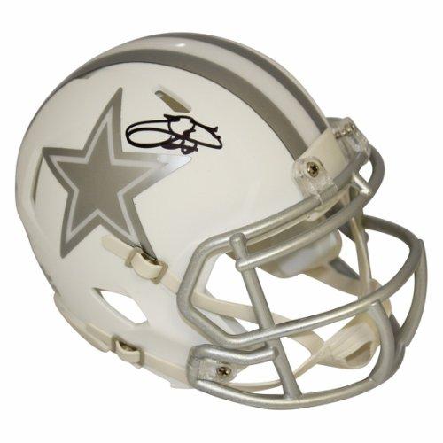 5f7b1b4ea55 Emmitt Smith Dallas Cowboys Autographed Signed Riddell Speed Alternate ICE Mini  Helmet - PSA/DNA