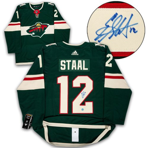 Eric Staal Minnesota Wild Autographed Signed Adidas Authentic Hockey Jersey 519c0c005