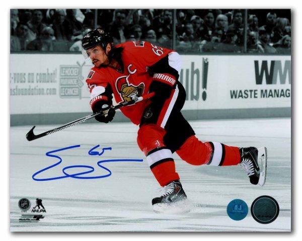 Erik Karlsson Ottawa Senators Autographed Signed Hockey Spotlight 8x10 Photo