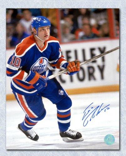promo code 1713d f3e9b Esa Tikkanen Edmonton Oilers Autographed Signed Hockey ...