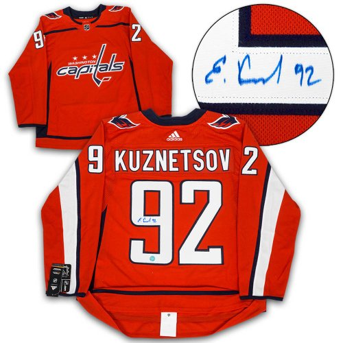Evgeny Kuznetsov Washington Capitals Autographed Signed Adidas Authentic  Hockey Jersey 646a8cb59