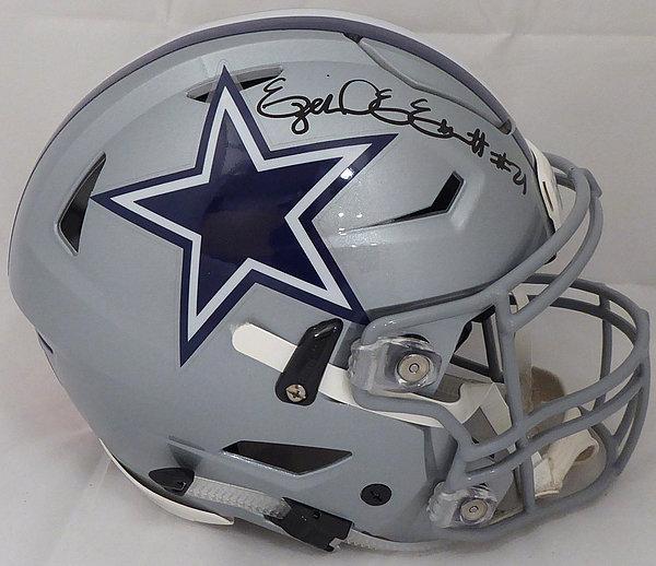 b252d908a Ezekiel Elliott Autographed Signed Memorabilia Dallas Cowboys Full Size  Authentic Hyper Speed Flex Helmet - Beckett Authentic KEN
