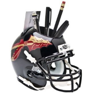 Florida State Seminoles NCAA Football Schutt Mini Helmet Desk Caddy