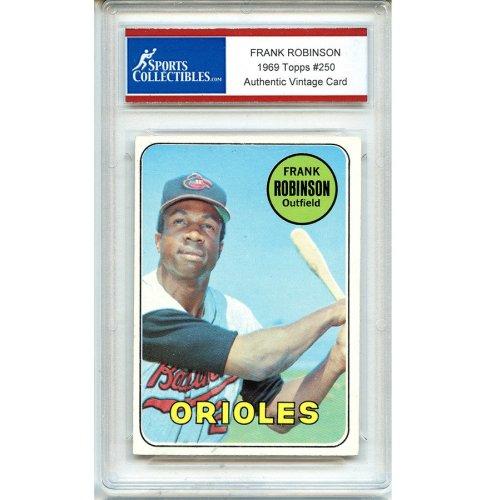 Frank Robinson Autographed Signed Baseball Trading Card