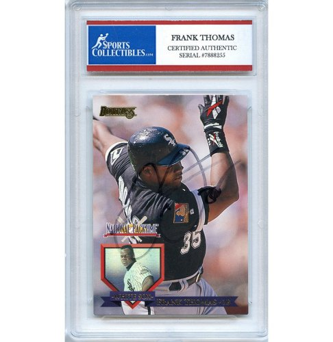 Frank Thomas Autographed Signed Baseball Trading Card Chicago White