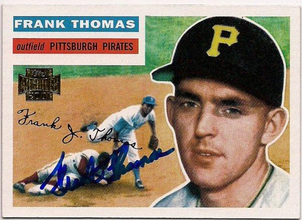 Frank Thomas Autographed Memorabilia Signed Photo Jersey