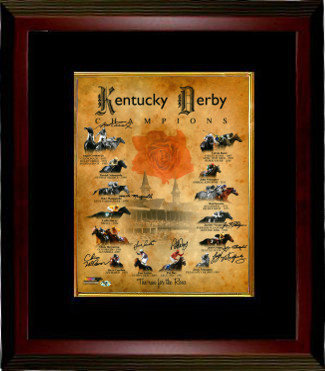 Funny Cide Autographed Signed Kentucky