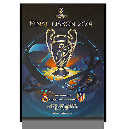 d3358804a222 Gareth Bale Autographed Signed Real Madrid 2014 UEFA Champions League Final  Match Programme - Certified Authentic