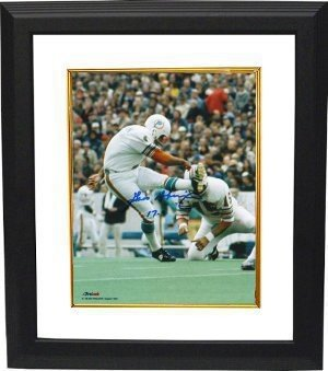 Garo Yepremian Autographed Signed Miami Dolphins 8x10 Deluxe Framed Photo 17-0 - Certified Authentic