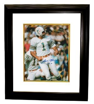 Garo Yepremian Autographed Signed Miami Dolphins 8x10 Photo 17-0 Custom Deluxe Framed - Certified Authentic