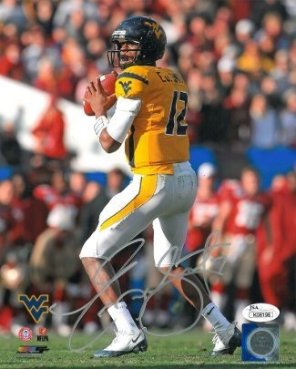 Geno Smith Autographed Signed West Virginia Mountaineers 8x10 Photo - Certified Authentic