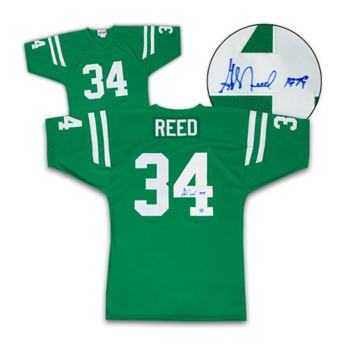 George Reed Autographed Signed Saskatchewan Roughriders Style Custom Football Jersey
