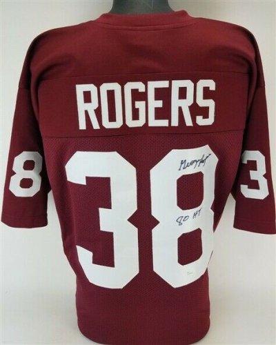 George Rogers Autographed Signed 80 Ht South Carolina Gamecocks Jersey (JSA COA) Heisman