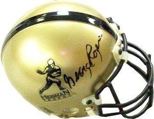 George Rogers Autographed Signed Memorabilia Gold Heisman Authentic Mini Helmet - JSA Authentic