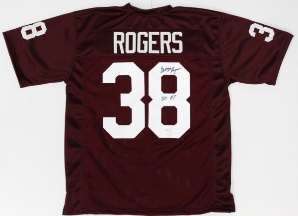 George Rogers Autographed Signed South Carolina Gamecocks Jersey Inscribed 80 Ht (JSA COA)
