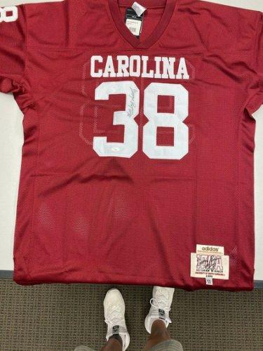 George Rogers Autographed Signed South Carolina Jersey 1980 Heisman (JSA) Free Shipping