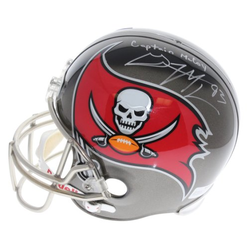 Gerald McCoy Tampa Bay Buccaneers Autographed Signed Riddell Full Size  Replica Helmet - Captain McCoy Inscription 56ac1368a