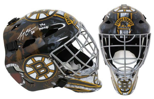 Gerry Cheevers Autographed Signed Boston Bruins Replica Goalie Mask w/The Mask