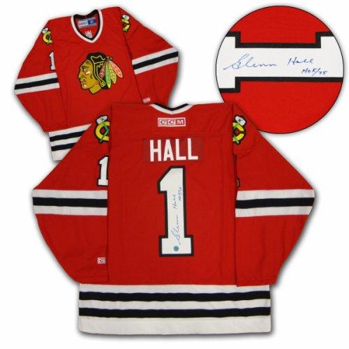 Glenn Hall Chicago Blackhawks Autographed Signed Retro CCM Hockey Jersey -  Certified Authentic 4f60fa836