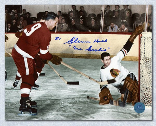 Glenn Hall Chicago Blackhawks Autographed Signed vs Gordie Howe 8x10 Photo  - Certified Authentic cc0e482f0