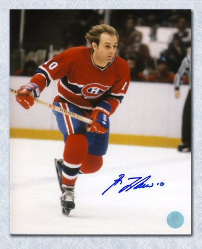 36d9e1757 Guy LaFleur Montreal Canadiens Autographed Signed Flowing Hair Autographed  Signed 11x14 Photo - Certified Authentic