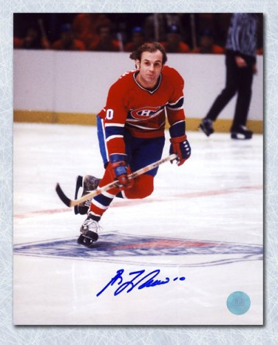 30e5a3646 Guy LaFleur Montreal Canadiens Autographed Signed Skating at MSG 8x10 Photo  - Certified Authentic
