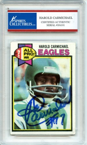 finest selection 8227c e08a8 Harold Carmichael Autographed Memorabilia | Signed Photo ...
