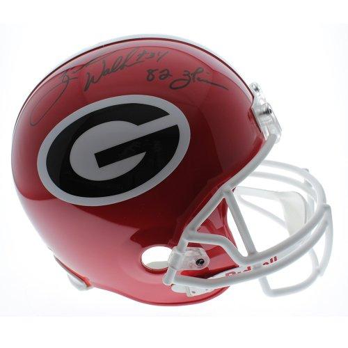 bf373b50f Herschel Walker Georgia Bulldogs Autographed Signed Riddell Full Size  Replica Helmet with 82 Heisman Inscription w
