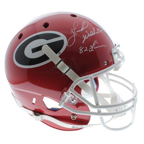 a363a7082 Herschel Walker Georgia Bulldogs Autographed Signed Schutt Full Size  Replica Helmet with 82 Heisman Inscription w