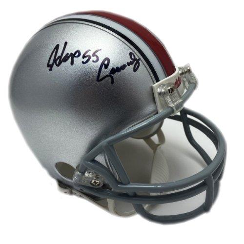 Hopalong Cassady Autographed Signed Ohio State Buckeyes Mini Helmet - Certified Authentic