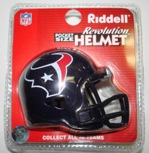 Houston Texans Riddell Pocket Pro Football Helmet