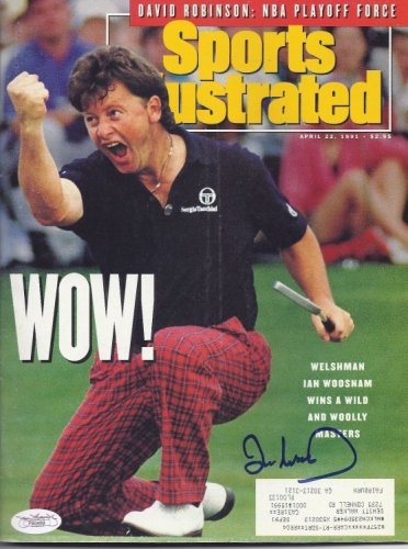 Ian Woosnam Autographed Signed 4/22/91 Sports Illustrated Masters Winner JSA COA