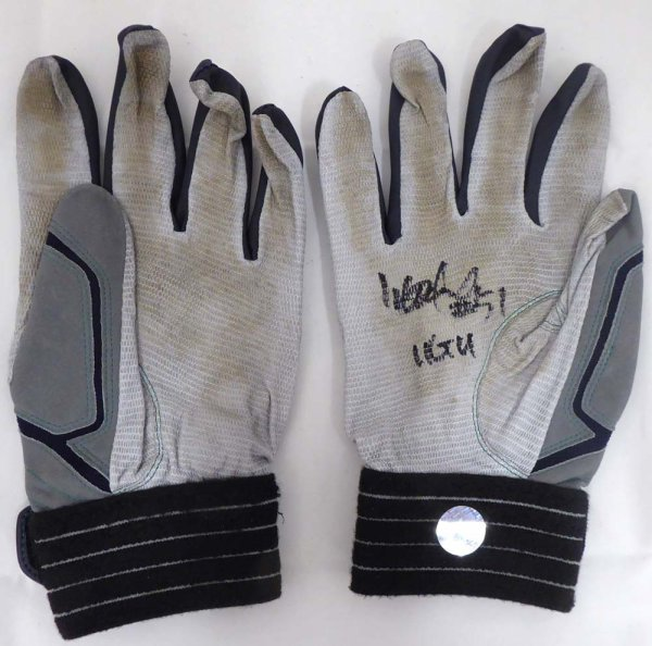 Ichiro Suzuki Autographed Signed Memorabilia 2011 Game Used Batting Gloves With Autographed Signed Memorabilia Certificate Seattle Mariners 11 Gu 148103 - Certified Authentic