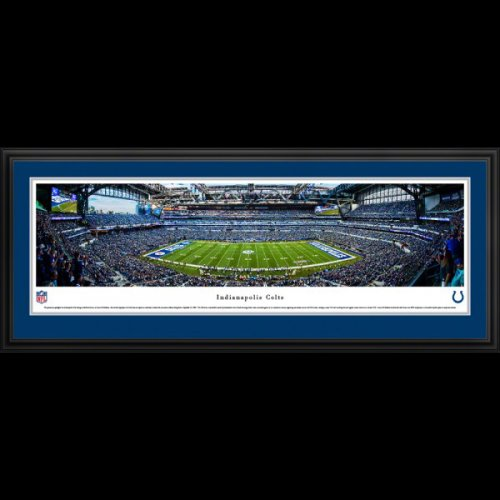 Indianapolis Colts Deluxe Framed Stadium Panoramic