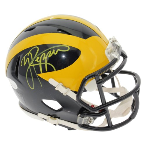 c37cfab9 Jabrill Peppers Autographed Signed Michigan Wolverines Speed Mini Helmet -  JSA Authentic