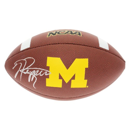 Jabrill Peppers Autographed Signed Michigan Wolverines Wilson Logo Football  - JSA Authentic 73c5490a0