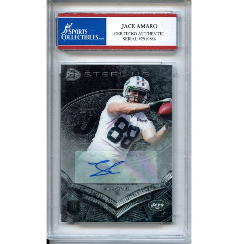 Jace Amaro Autographed Signed 2014 Bowman Rookie Trading Card - Certified  Authentic fe4f421a7