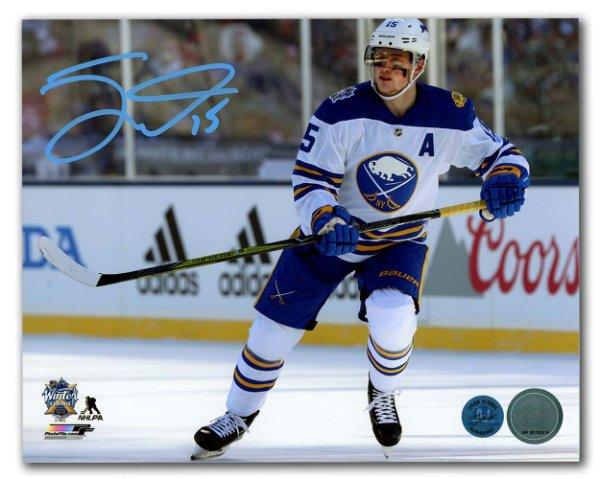 hot sale online 8571a ad557 Jack Eichel Autographed Memorabilia | Signed Photo, Jersey ...