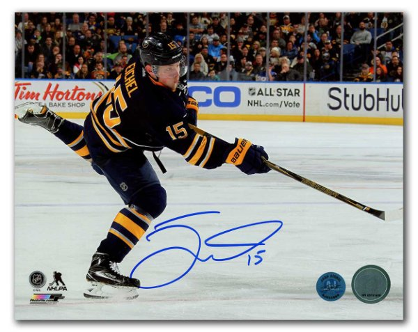 3ae488ae0 Jack Eichel Buffalo Sabres Autographed Signed Hockey Sniper 8x10 Photo -  Certified Authentic